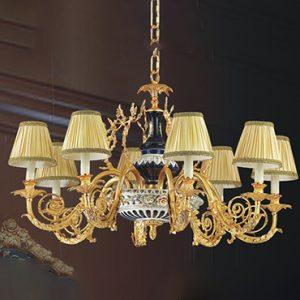 Giá những mẫu đèn chùm trang trí bằng đồng HOT nhất hiện nay