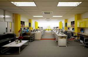 Thiết kế văn phòng làm tăng hiệu quả kinh doanh