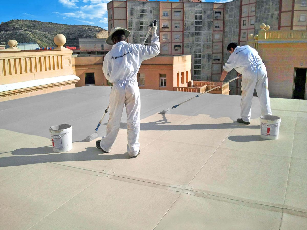 Sử dụng vật liệu chống thấm dột chuyên dụng
