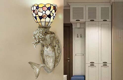 đèn tường cầu thang nàng tiên cá