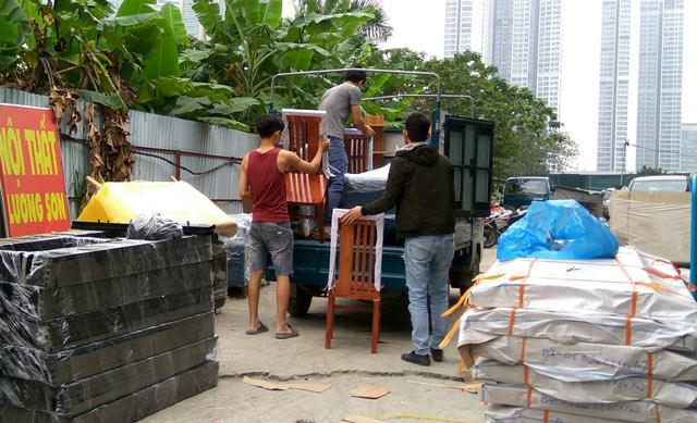 Mua hàng tại kho nội thất Lương Sơn để được lắp đặt và vận chuyển tận nhà