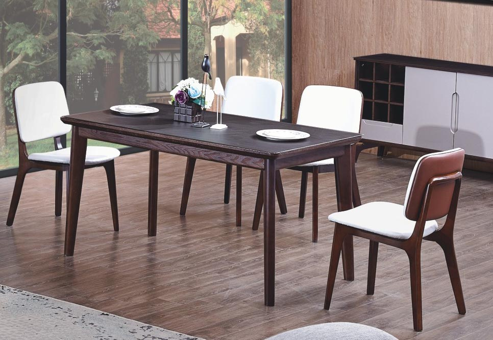 Bàn ghế ăn hiện đại cao cấp gỗ tự nhiên