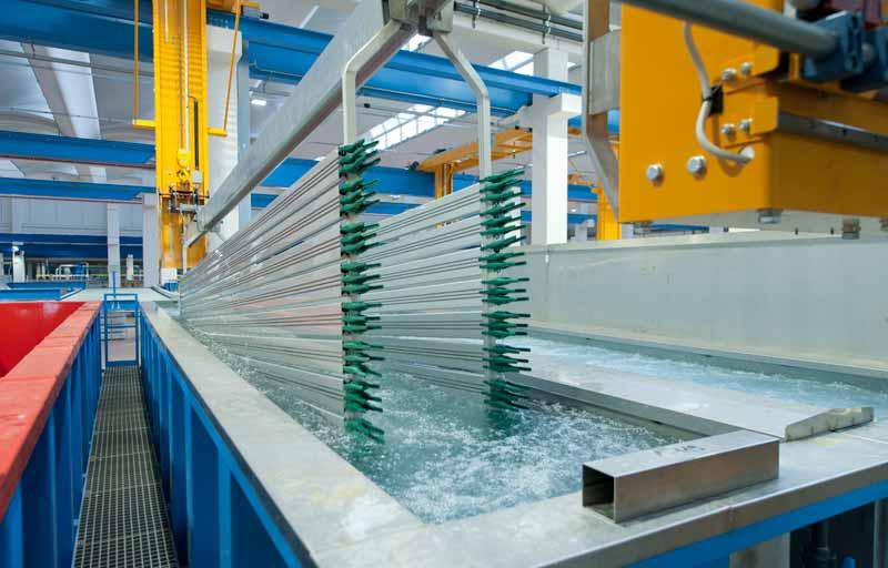 Công nghệ Anode xử lý bề mặt nhôm thanh