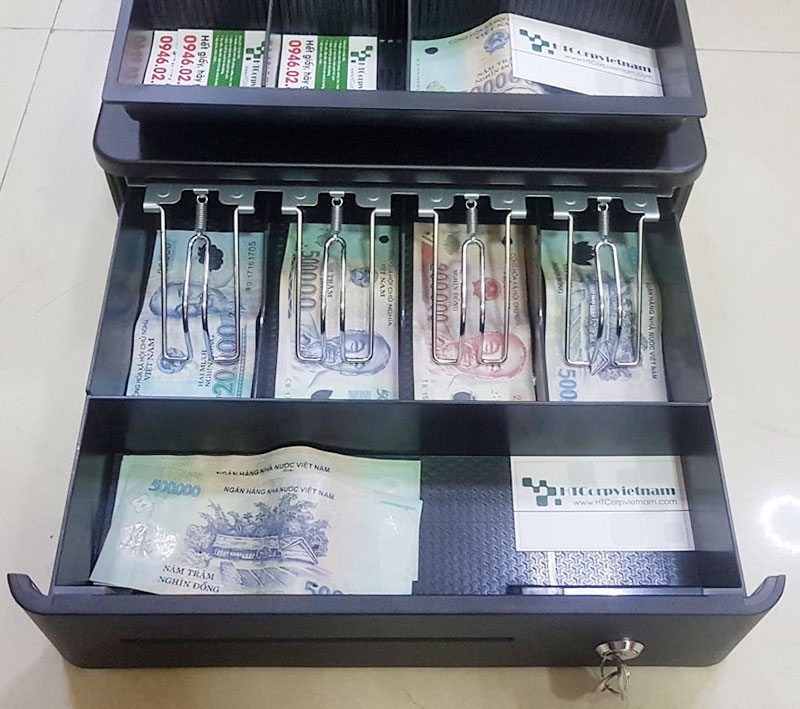 Cách kết nối ngăn kéo đựng tiền với máy in hóa đơn